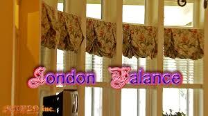 beautiful london valances and shades youtube