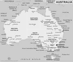 map of australia political free australia political map black and white black and white