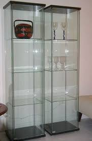Glass Curio Cabinet With Lights Glass Curio Cabinets Ikea Roselawnlutheran