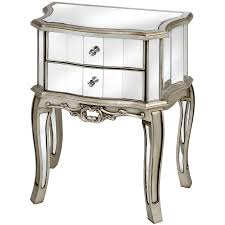 Side Tables For Bedroom by Furniture 3 Drawers Mirrored Chest Of Drawers For Bedroom