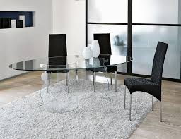 large glass top dining table contemporary oval glass top dining table pertaining to round and