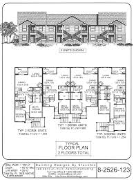 8 Unit Apartment Building Floor Plans 8 Plex Too Many Stairs Apartment House Plan Ideas Pinterest