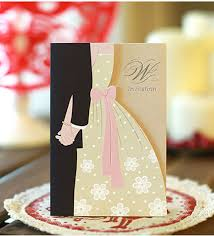 Bride To Groom Wedding Card Aliexpress Com Buy Free Shipping Wholesale Elegant Pink Bride