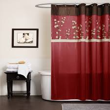 Red And Gold Damask Curtains Red And Grey Shower Curtain Mainstays Aperture Fabric Shower