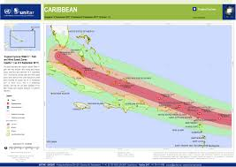 Wind Speed Map Tropical Cyclone Irma 17 Path And Wind Speed Zones Upadte 1 As