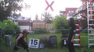 ultimate x match xristo vs xacutor chw backyard wrestling