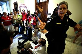 health care protests police arrest 80 in washington d c time com