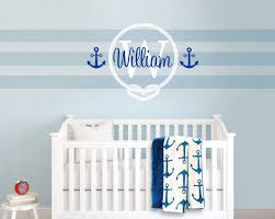 Boy Nursery Wall Decal Aliexpress Buy Nautical Sailor Themed Wall Stickers Baby Boy