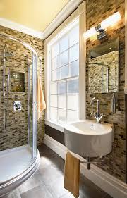 Bathroom Beadboard Ideas - inspired rainfall shower head in bathroom contemporary with small