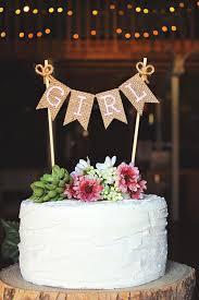 baby shower cake toppers girl girl cake topper girl banner girl sign girl baby shower cake