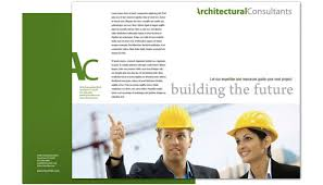 tri fold brochure template for architect engineering firm order