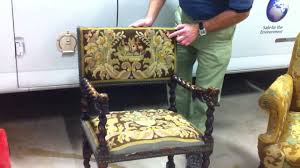 Furniture Upholstery Cleaner Boston Antique Upholstery Cleaning Youtube