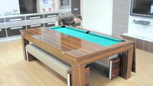 Dining Pool Table by