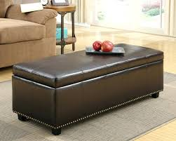 small round tufted ottoman leather storage ottoman coffee table round storage ottoman coffee