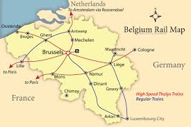 map of begium how to get around belgium like a local