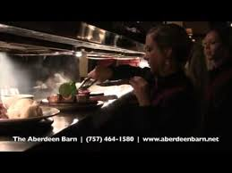 Aberdeen Barn Restaurant The Aberdeen Barn Youtube