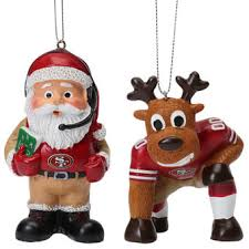 san francisco 49ers decorations gift bags ornaments