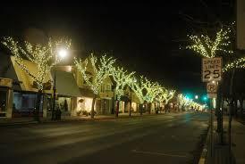 favorable bid yields bonus lights for charlevoix u0027s east park trees
