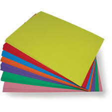 30 x a4 premium coloured card assorted colours arts crafts card