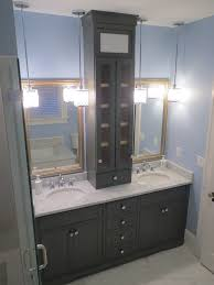 Bathroom Vanity With Shelves Custom Bathroom Cabinets And Vainities In Jacksonville Florida