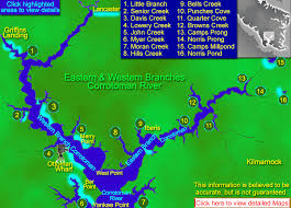 Map Of Northern Virginia Map Of Indian Creek To Dameron Marsh In The Northern Neck Of Virginia