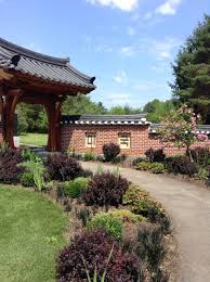 Virginia Botanical Gardens Meadowlark Botanical Gardens Wolf Trap Virginia Entrance To