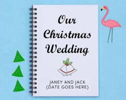 wedding gift journal wedding journal etsy