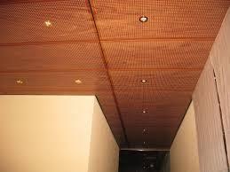 faux plafond fibre de bois maison travaux