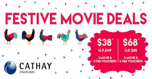 save up to 17 cathay cineplexes tickets with new festive movie