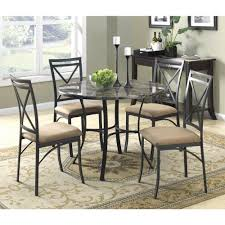 dining rooms sets dorel black coffee faux marble top dining room set 5