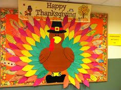 thanksgiving bulletin board cms thankful notes on feathers