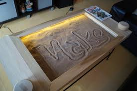 building an etch a sketch coffee table make