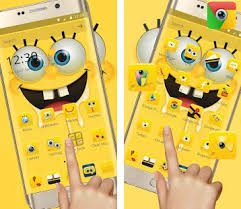 go launcher themes spongebob cartoon spongebob wallpaper theme apk download latest version 1 1 3