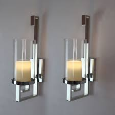 Candle Wall Sconces For Living Room Contemporary Wall Sconce Candle Holder Candle Candle Wall Sconces