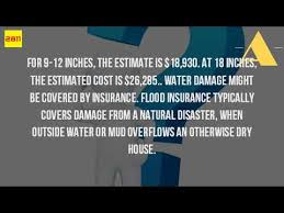 Estimate Flood Insurance Cost by How Much Does It Cost To Repair Flood Damage