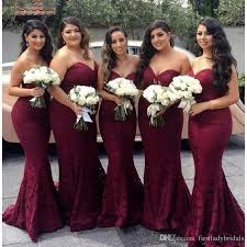 plus size burgundy bridesmaid dresses 2017 burgundy lace plus size bridesmaid dresses sweetheart mermaid