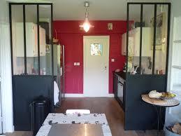 cloison amovible cuisine cuisine avec cloison industrielle vitr e castorama axioma leroy avec