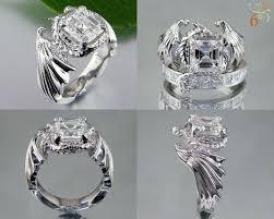 anime wedding ring anime wedding rings b one wedding rings blushingblonde