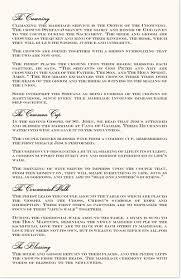 One Page Wedding Program Greek Orthodox Wedding Ceremony Church Program Religious Programs