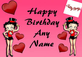 card invitation design ideas betty boop birthday card