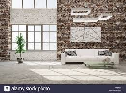 concrete living room interior eclectic living room with stone