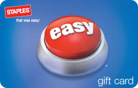 Buy Giftcards With Paypal by Buy Staples Egift Cards With Paypal