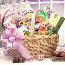 deluxe easter gift basket gourmet chocolate gifts