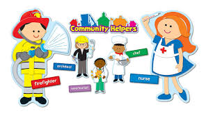 amazon com carson dellosa community helpers bulletin board set