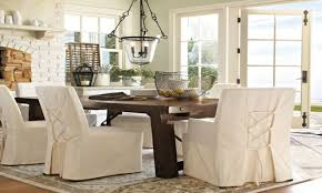 Dining Room Tables Pottery Barn by Pottery Barn Dining Room Chair Slipcovers Alliancemv Com