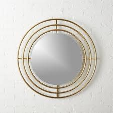 Circle Wall Mirrors Orbit Small Round Wall Mirror 32 5