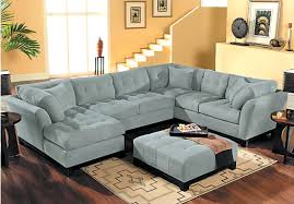 Sofa Bed Rooms To Go by Cindy Crawford Home Metropolis Hydra 4 Pc Sectional Living Room