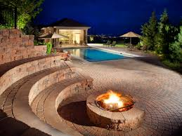 Patio Fire Pit Ideas Outdoor Fire Pit Seating Ideas In Ground And Aboveground Seg2011 Com
