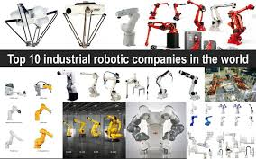 top 10 industrial robotic companies in the world edward