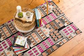 make over your living room with this cheap easy rug hack brit co